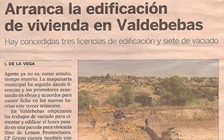 EL PAIS – Arranca la edificación de vivienda en Valdebebas
