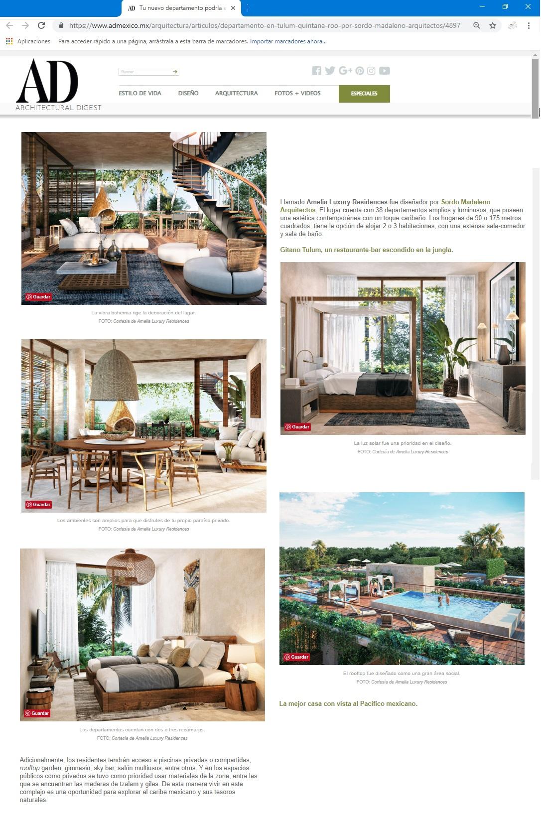 Digital AD - Amelia Tulum - 2018 11 26 PAG 2
